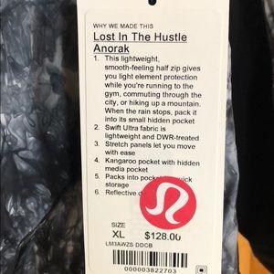 4af3ffa67 lululemon athletica Jackets   Coats - Lululemon Lost in the Hustle Anorak